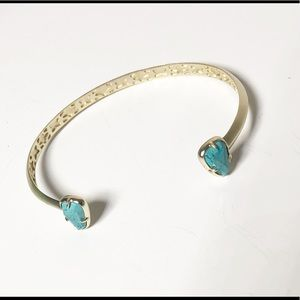 Kendra Scott cuff bracelet bangle with turquoise